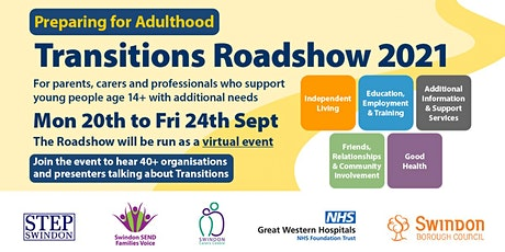 Transitions Roadshow Session 2 - Independent Living tickets