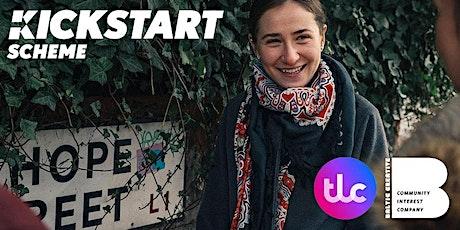 Kickstart with Transform Lives Company and DWP tickets