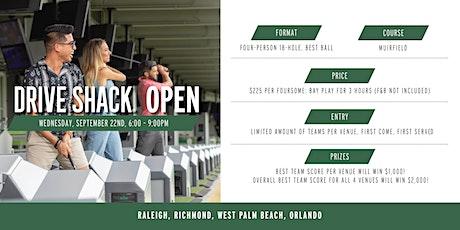 Drive Shack Open (Richmond) tickets