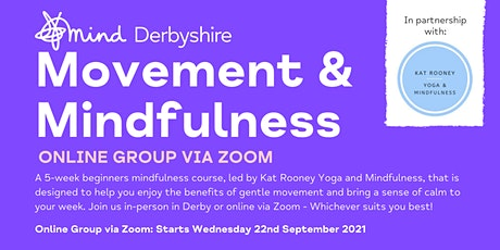 Movement and Mindfulness: Online Zoom Group tickets