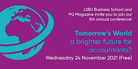 Tomorrow's World – a brighter future for accountants? tickets