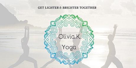 Vinyasa Yoga Class with Olivia K Yogi billets
