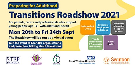 Transitions Roadshow 12 - Friends, Relationships & Community Involvement tickets