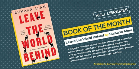 Online Book Club: Leave the World Behind tickets