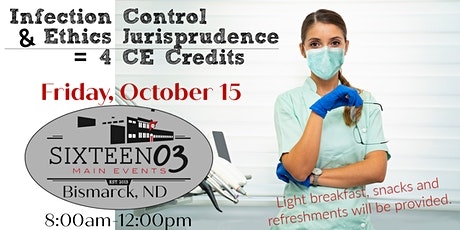 Continuing Education Infection Control/Ethics & Jurisprudence tickets
