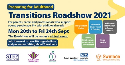 Transitions Roadshow 15 - Health Transitions at GWH & LD Annual Healthcheck tickets