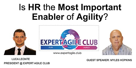 Is HR the Most Important Enabler of Agility? tickets