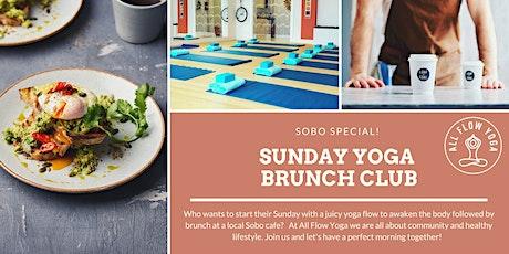 Sunday Yoga Brunch Club tickets