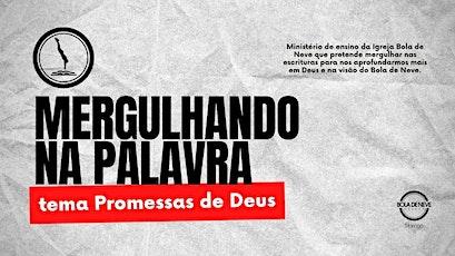 MERGULHANDO NA PALAVRA (27.09) 20h00 ingressos