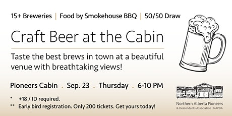 Craft Beer at the Cabin tickets