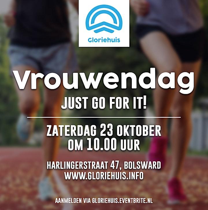 Afbeelding van Gloriehuis - Vrouwendag - Just go for it!