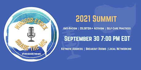 #WEsharethemic Summit 2021 tickets