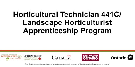 Info Session for Landscape Horticultural Technician Apprenticeship tickets