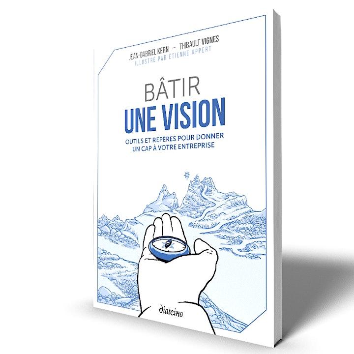 """Image pour Webinaire de présentation du livre """"Bâtir une vision"""""""