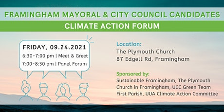 Mayoral & Council Candidates Climate Action Forum tickets