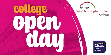West Notts College Open Day tickets