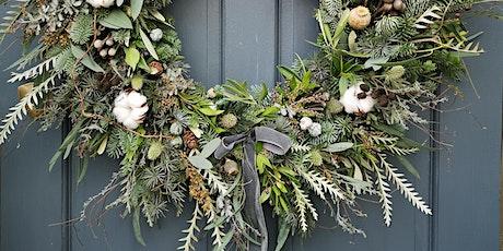 Luxury Christmas Wreath Online Workshop tickets