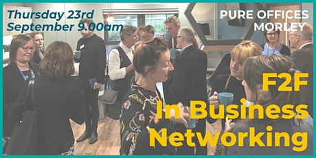 In Business F2F Networking Event tickets