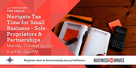 Navigate Tax Time for Small Business - Sole Proprietors & Partnerships tickets