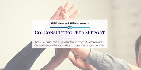 PCN - Co-Consulting Peer Support Session - Personalised Care tickets
