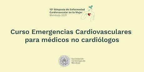 Curso Emergencias cardiovasculares - 13° Simposio de EC en la Mujer entradas