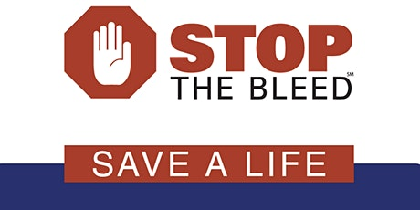 Stop the Bleed taught by Certified Instructors tickets