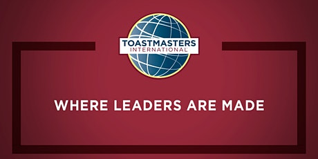 Dundalk Toastmasters Meeting - Public Speaking Made Easy! tickets