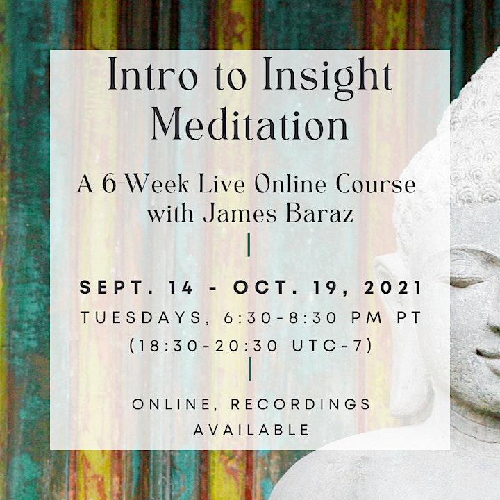 Intro to Insight Meditation image