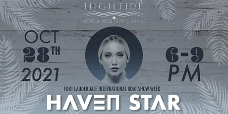 Fort Lauderdale International Boat Show Week with Haven Star tickets