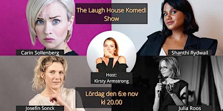 The Laugh House Ståupp Komedi 6:e november tickets