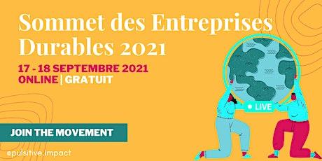 Sommet des entreprises durables 2021 billets
