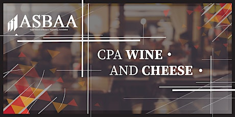 CPA Wine & Cheese tickets