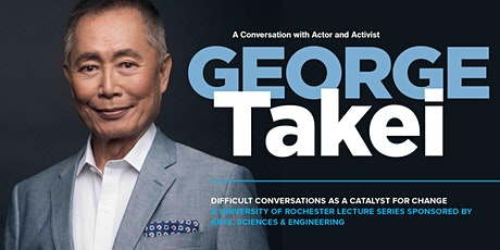 A Conversation with Actor and Activist George Takei tickets