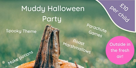 A Muddy Halloween - Kids Outdoor Party! tickets
