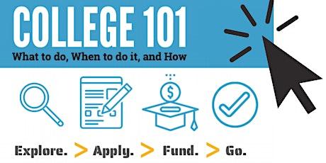 College 101- Fund tickets