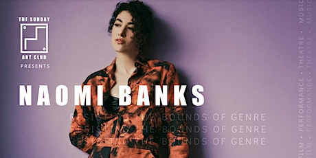 The Sunday Art Club: Sessions NAOMI BANKS tickets
