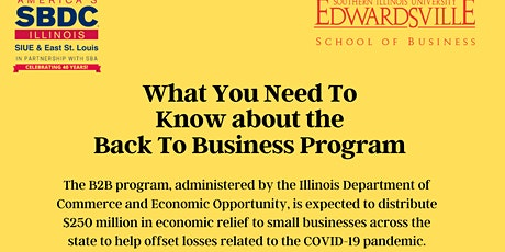 What you Need to Know about the IL Back to Business Grant tickets