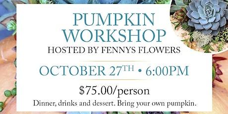 Pumpkin Succulent Workshop tickets
