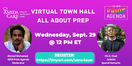 All About PrEP Virtual Town Hall tickets