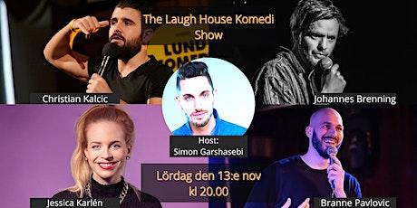The Laugh House Ståupp Komedi 13:e november tickets