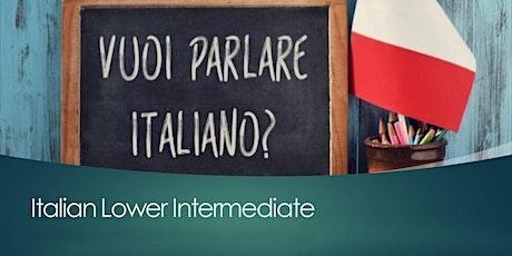 Italian Lower Intermediate, Wednesday, 7pm - 9pm tickets