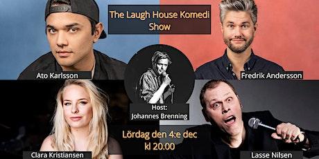 The Laugh House Ståupp Komedi 4:e december biljetter