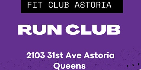 Fit Club - Run CLub tickets