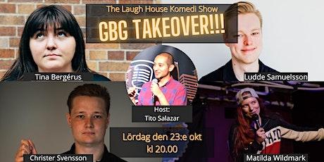 The Laugh House GBG Takeover 23:e oktober tickets