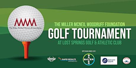 The Miller McNeil Woodruff Foundation Charity Golf Tournament tickets