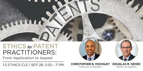 Ethics for Patent Practitioners:  From Application to Appeal (CLE) tickets