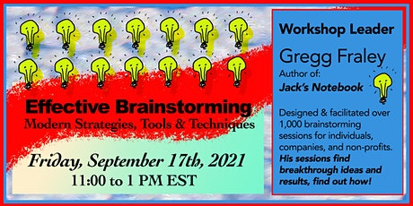 Effective Brainstorming, Modern Strategies, Tools & Techniques biglietti