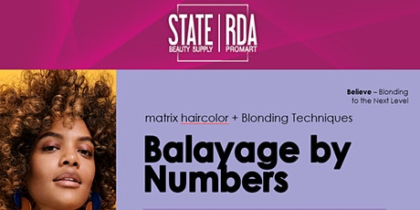 Balayage By Numbers tickets