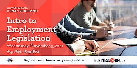 Intro to Employment Legislation tickets