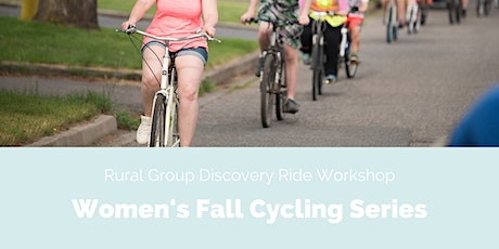 4. 25km Rural Group Discovery Ride Workshop tickets